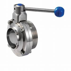 Stainless Steel Manual Dairy Butterfly Valve  Rs 2500