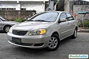 Toyota Corolla Manual 2006 For Sale