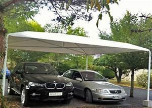 Abri De Jardin En Toile : l abri de voiture en toile la simplicit incarn e blog ~ Dailycaller-alerts.com Idées de Décoration