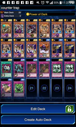 Counter Trap Deck Recipe  Yugioh! Duel Links Gamea
