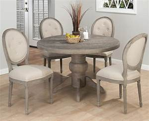 Furniture: Gray Dining Room Dining Room Black Brown Round