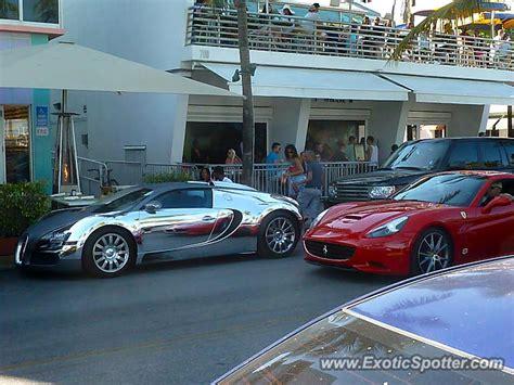 Bugatti In Miami by Bugatti Veyron Spotted In Miami Florida On 03 22 2013