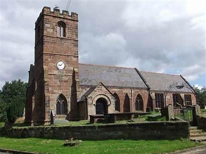 Church Mary Thornton Moors Village Commons Parish