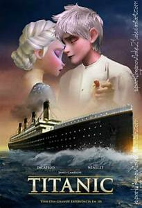 Titanic- Jack Frost and Elsa by SparklingSnowflake21 on ...