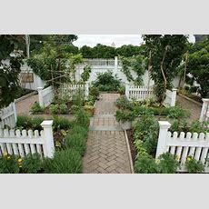 Formal Herb & Vegetable Garden By Ken Gercens Potager