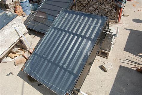 fabriquer une chambre froide comment fabriquer un chauffe eau solaire