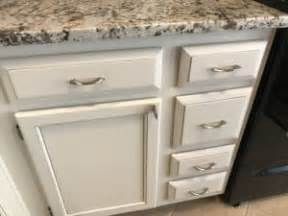 kitchen cabinets painted dove white  pewter glaze