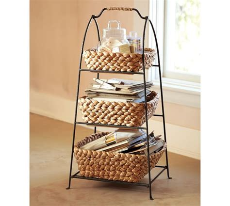 kitchen tiered etagere pottery barn