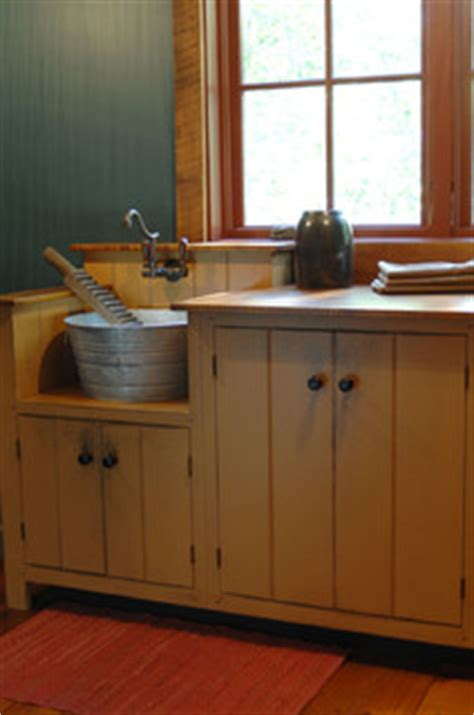 central kentucky log cabin primitive kitchen eclectic