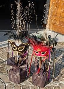 Mardi Gras Masquerade Ball Centerpiece