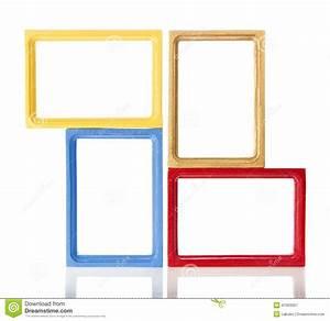 Ensemble Cadre Photo : ensemble du cadre quatre en bois pour la photo illustration stock illustration du conception ~ Teatrodelosmanantiales.com Idées de Décoration