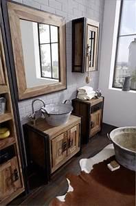 Badmöbel Vintage Style : unterschrank caribe vintage industrial ~ Michelbontemps.com Haus und Dekorationen