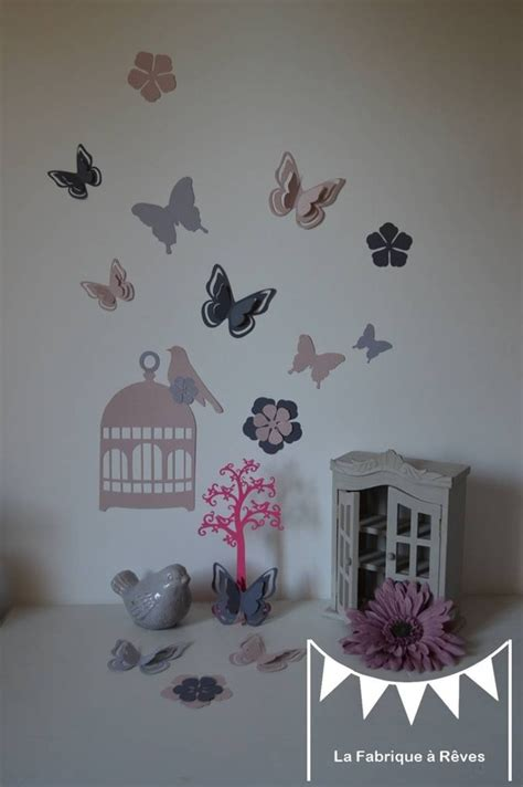 deco papillon chambre deco murale chambre enfant chambre bb garon chambre bebe