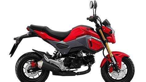 2018 Honda Grom by 2017 2018 Honda Grom 125 Msx Price Specs Top Speed