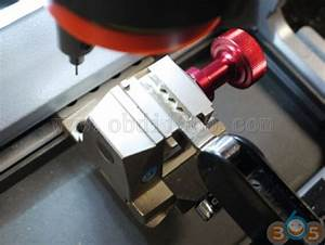 Xhorse Condor Key Cutting