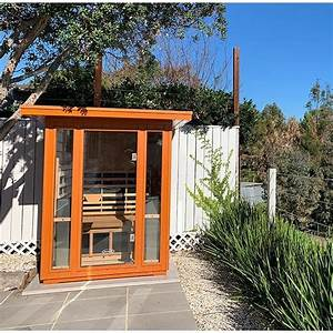 clearlight sanctuary 2 outdoor infrared sauna call us for