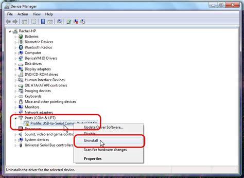 prolific usb to serial comm port com3 drivers prolific usb to serial comm port