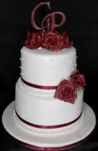 two tier wedding cake sugarcraft by soni october 2011