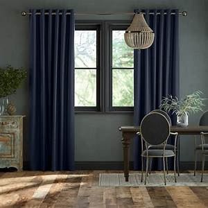 Plain Light Grey Curtains Bespoke Navy Curtains 2go Custom Sizes To Suit Your Home