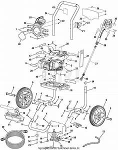 Homelite Ps80945 Powerstroke Pressure Washer Parts Diagram