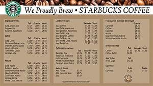 List of Synonyms and Antonyms of the Word: starbucks menu 2016