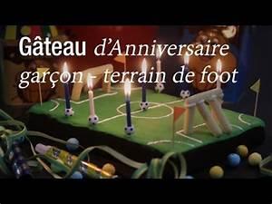 Image De Gateau D Anniversaire : g teau d 39 anniversaire terrain de foot dessert ~ Melissatoandfro.com Idées de Décoration