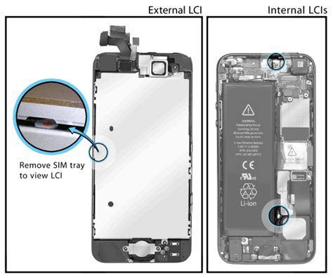iphone 5s water damage indicator how to maximize apple s iphone 5 warranty policies tested