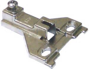 pm1121fe25a 3mm h3 cabinet hinge plate
