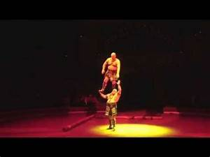 Two Big Men Performing Acrobatic Feats of Strength! - YouTube