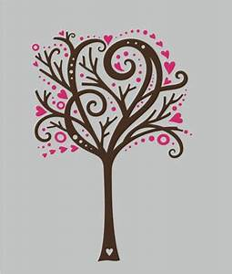 tree wall design wall decals stickers whimsical heart With whimsical tree wall decal ideas for home decor
