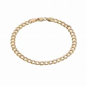 14k gold cuban link bracelet stoned love by suzy With bracelet