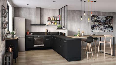 cuisine ouverte 16 modèles de cuisiniste côté maison