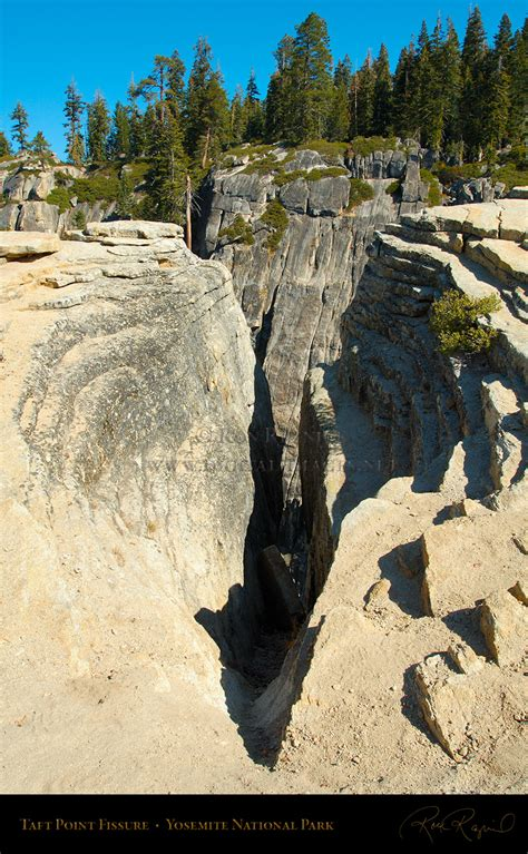 Taft Point Fissures And Views
