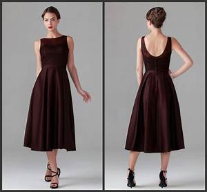 tea length mother of the bride dresses for wedding maroon With maroon dresses for wedding