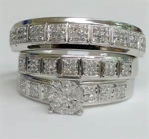 discount wedding ring sets cheap wedding rings sets for him and