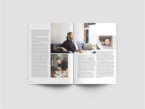 A4 magazine mockup for magazine concepts. A4 Magazine Mockup - PSD