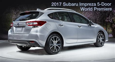 subaru impreza hatchback moment of truth 2017 subaru impreza production vs concept