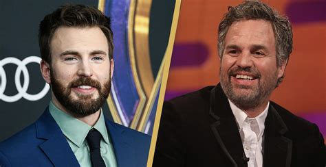 Mark Ruffalo Pokes Fun At Chris Evans After He ...
