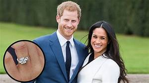 new rare photos of soon to be royal family member meghan With prince harry wedding ring