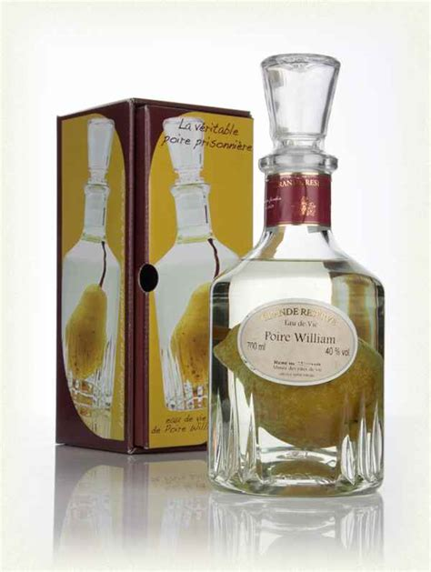 rene de miscault eau de vie poire william pear in carafe