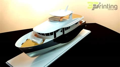 3d Printed Boat by 3d Printed Model Yacht