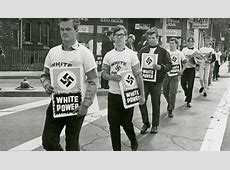 Counterprotestors driven by fear, hatred, white residents