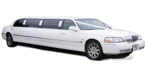 White Limo by White Lincoln Limousine Town Car Millennium Edition 8