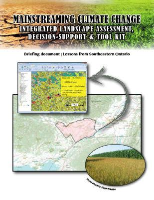 mainstreaming climate change integrated landscape