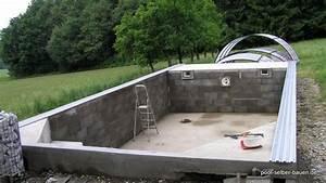 Einbau Pool Selber Bauen : pool berdachung f r den pool planen pool selber ~ Sanjose-hotels-ca.com Haus und Dekorationen