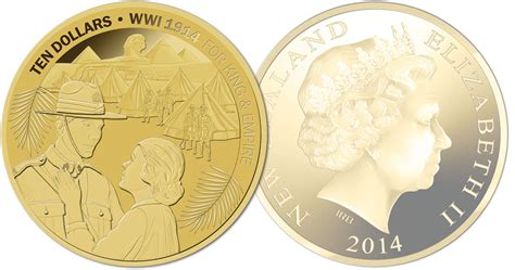 New Zealand Post Kicks Off Five-year 'great War' Coin