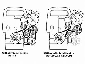 1995 Volvo 850 L5 2 3l  L5 2 4l Serpentine Belt Diagram