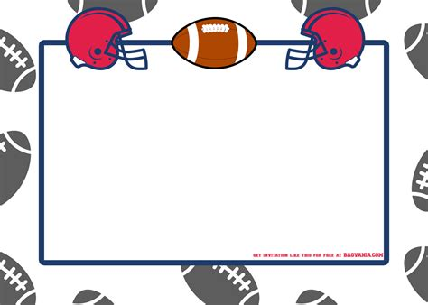 football party invitation template bagvania