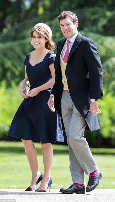 How Meghan Markle and Prince Harry Showed PDA At Princess Eugenie's Royal Wedding