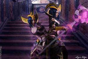 LeBlanc Cosplay. League of Legends. by MorganaCosplay on ...